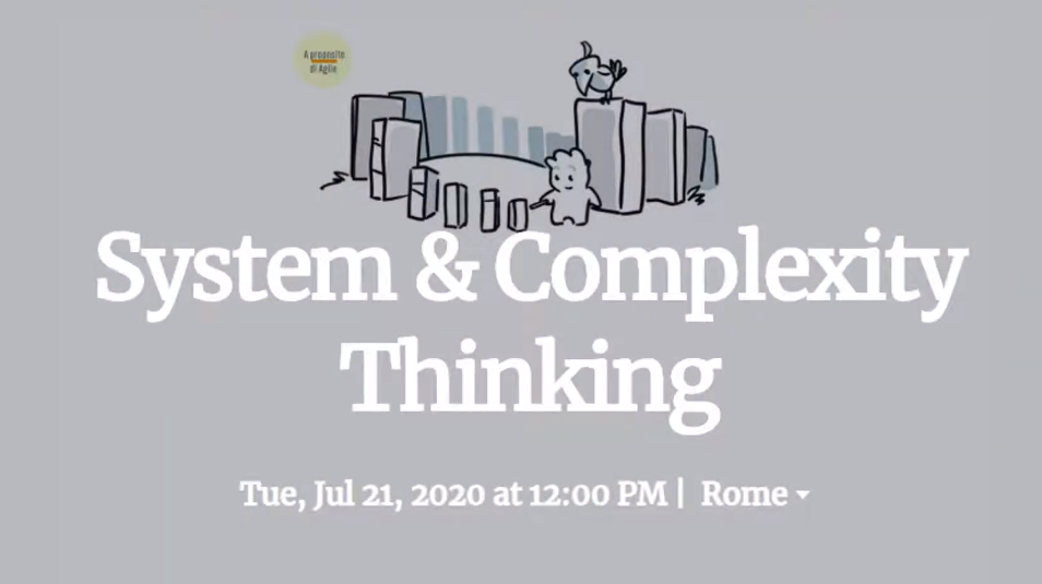 system and complexity thinking