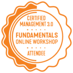 Certified Management 3.0 Fundamentals online workshop attendee