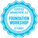 Certified Management 3.0 Foundation workshop attendee