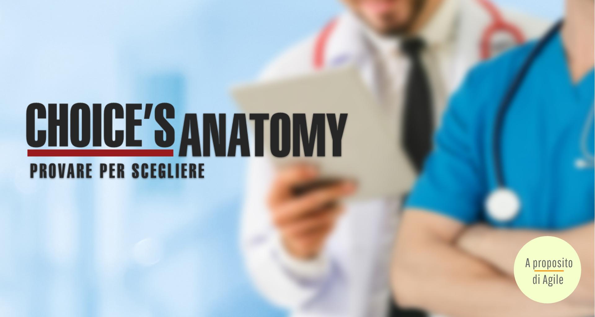 Webinar 4 Choice's Anatomy - provare per scegliere