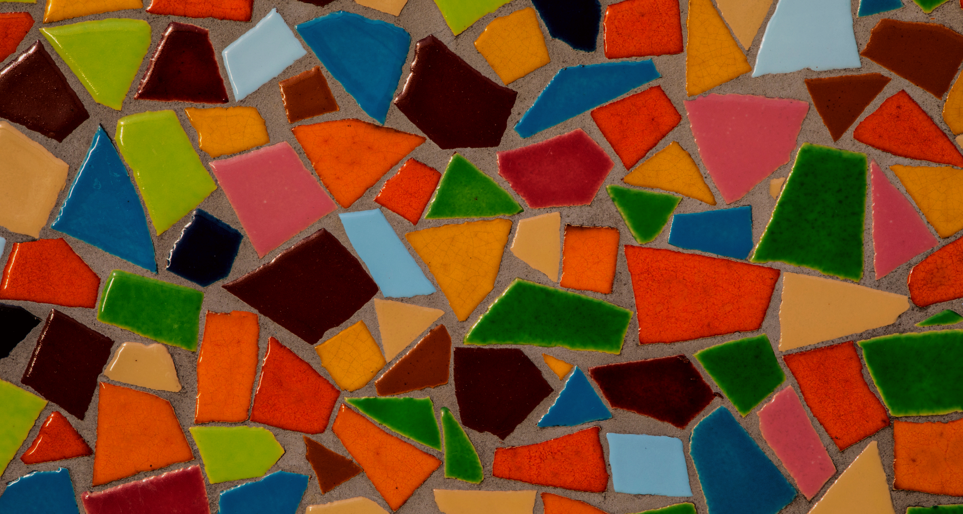 Colourful mosaic background