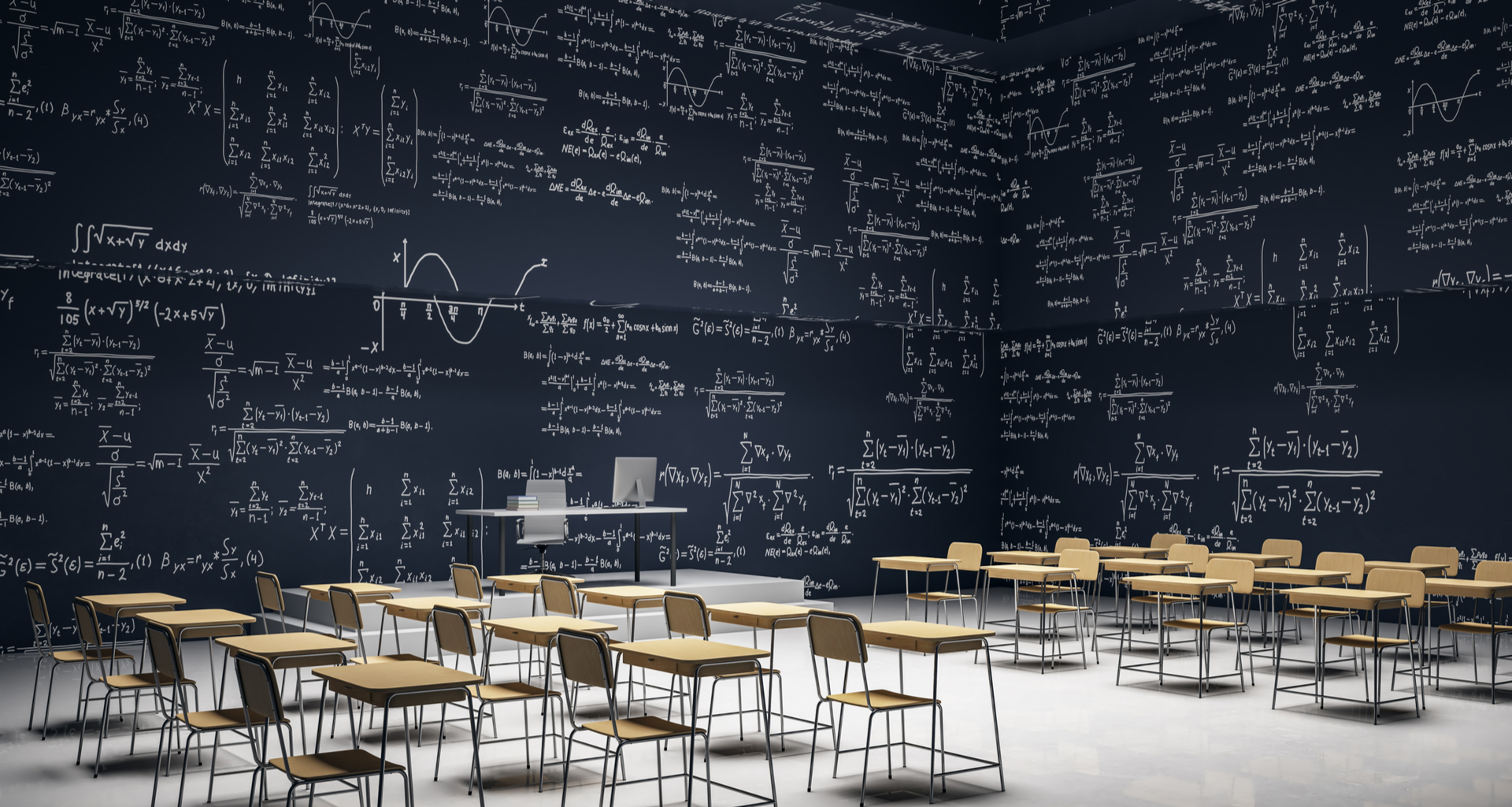 stock-photo-luxury-classroom-interior-with-furniture-and-mathematical-formulas-on-wall-math-and-complex